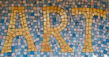 ART mosaic at Casa Mosaica rental in Gaucin
