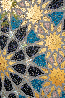 mosaic artwork at Casa Mosaica