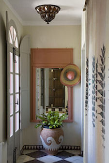 Entrance to the Casa Mosaica Apartment, holiday rental in Gaucin