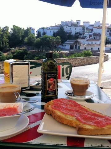 Breakfast in Gaucin