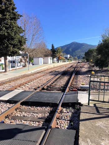 El Colmenar railway line.