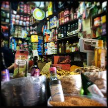 spice shop in Tangier