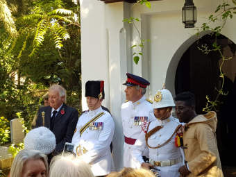 Royal Marines in Tangier