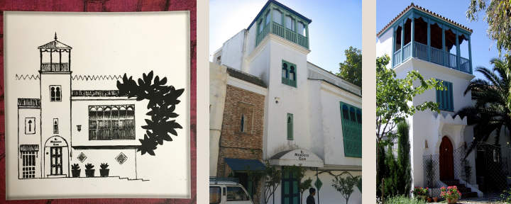 The Moroccan Club which inspired Casita Mosaica's design