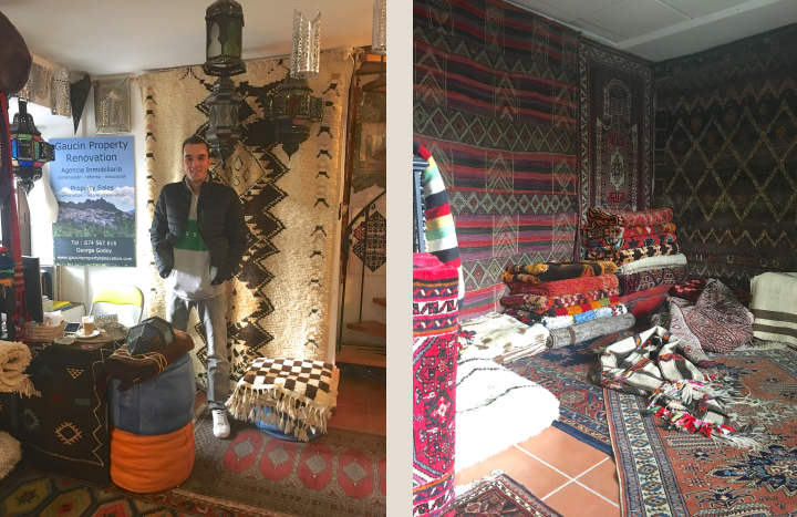 Ali's Moroccan shop in Gaucin